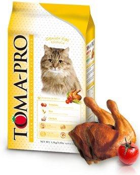★優逗★TOMA-PRO優格 高齡貓 高纖低脂配方 雞肉&米 1.5KG/1.5公斤
