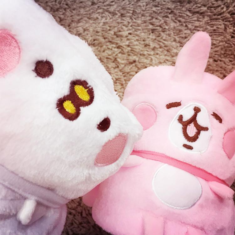 PGS7 (現貨+預購) 日本卡通系列商品 - Kanahei 卡娜赫拉 毛毯 被毯 毯子 涼被 兔兔 p助