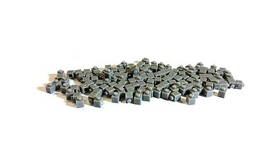 BrickBrick潮帽-灰色積木(Pixcel)