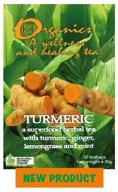 澳洲無尾熊有機薑黃茶 -Turmeric Tea Organics 送禮首選