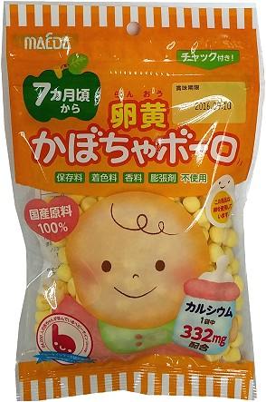 有樂町進口食品 日本進口 大阪前田南瓜嬰兒蛋酥 75g 491147306207
