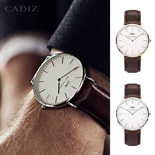 【Cadiz】瑞典DW手錶Daniel Wellington 0109DW玫瑰金 0209DW銀 Bristol 40mm [代購/ 現貨]