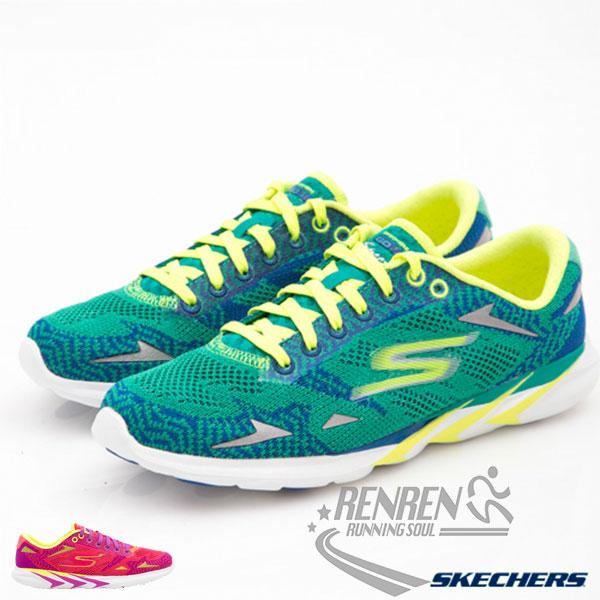 SKECHERS 女健走鞋 Go MEB Speed (藍綠色) 懶人鞋 運動鞋