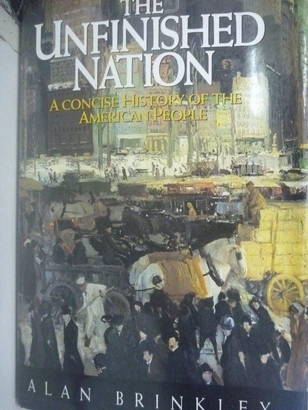 【書寶二手書T6/歷史_ZCA】The unfinished nation : a concise