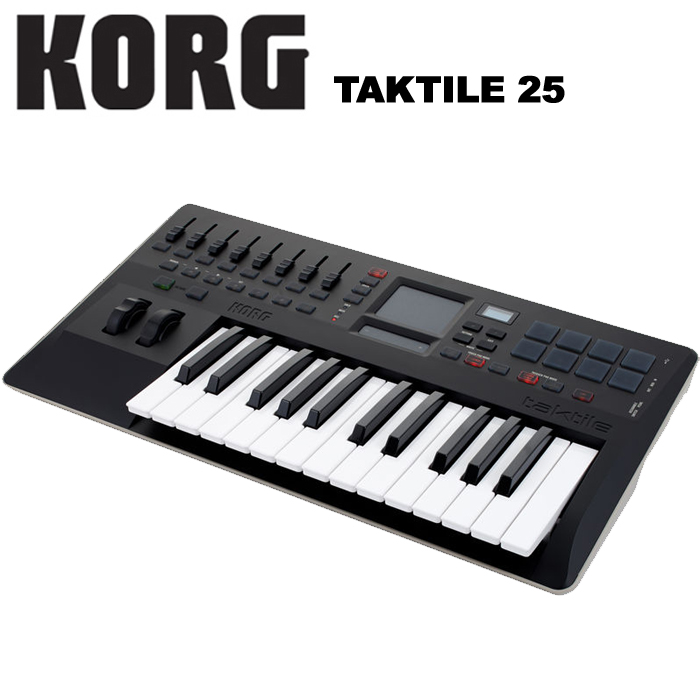 【非凡樂器】KORG taktile 25 鍵主控鍵盤USB MIDI Control Keyboard