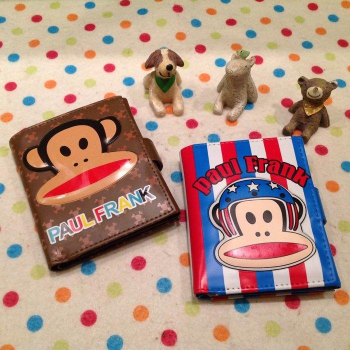 =優生活=大嘴猴 猴子 可愛猴立體造型短夾 卡通史迪奇皮夾造錢包 零錢包 證件包