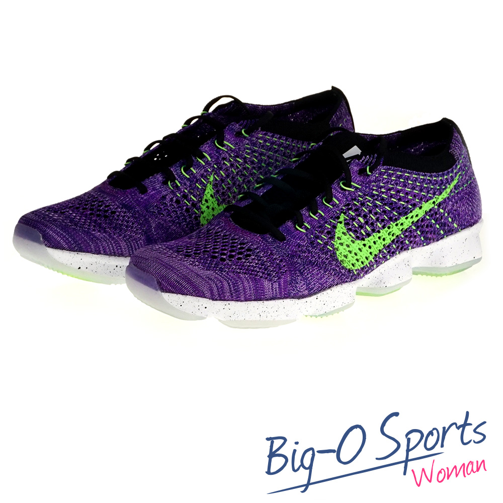 促銷品 NIKE 耐吉 WMNS NIKE FLYKNIT ZOOM AGILITY  訓練鞋 女 698616501  Big-O Sports