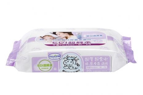 『121婦嬰用品館』貝恩 嬰兒柔濕巾EDI-無添加 20抽*3包/串