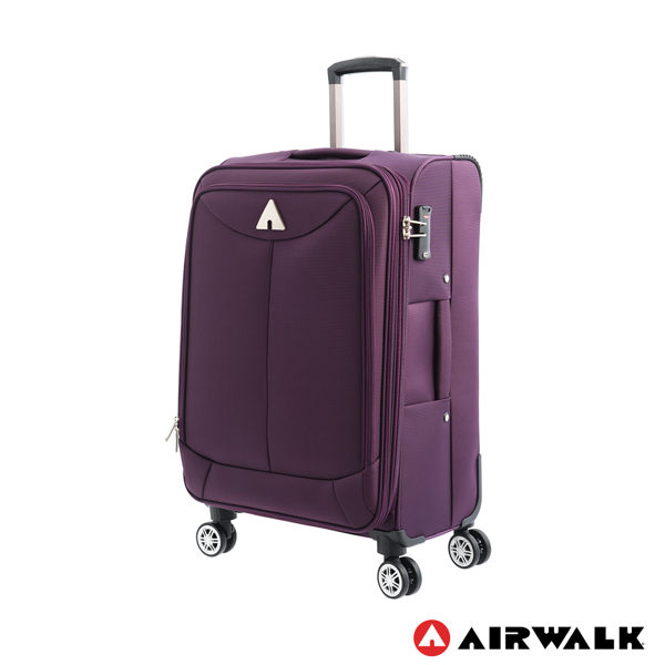AIRWALK LUGGAGE - 【禾雅】尊爵系列 紫色的溫度24吋行李箱 - 爵士紫