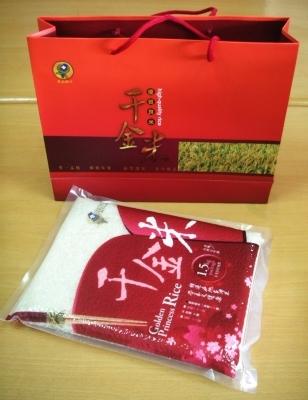 千金米經濟禮盒(1.5kg 一入)【千金米】
