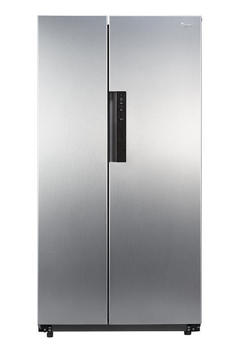 Whirlpool 惠而浦 WHS21G    星河銀對開冰箱台製 600L