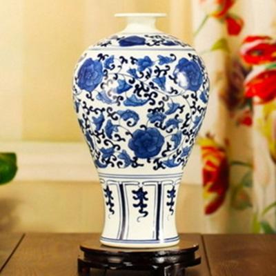 陶瓷花瓶 青花瓷瓷器 擺件-圖案精美栩栩如生居家擺飾6色73c20【獨家進口】【米蘭精品】