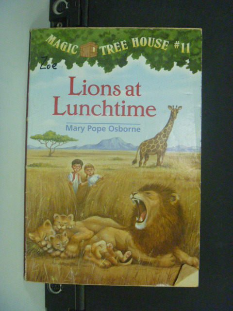 【書寶二手書T1/原文小說_NJS】Lions at Lunchtime_Osborne
