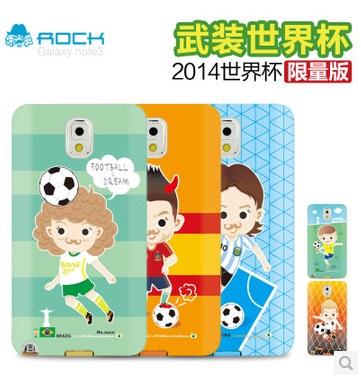 Samsung Galaxy Note3 / N9000 世界盃足球賽 TPU手機軟套 限量版保護套