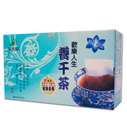 港香蘭 歡樂人生活力茶 原歡樂人生養肝茶 8g×12包/盒   公司貨中文標 PG美妝