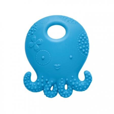 ★衛立兒生活館★美國 Mayapple Baby 固齒器玩具 (藍色章魚)