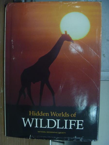 【書寶二手書T3/動植物_PGO】Hidden worlds of wildlife_1990