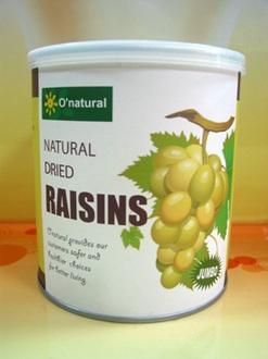歐納丘~智利頂級天然葡萄乾360g/罐
