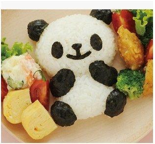 =優生活=日本進口正版 熊貓 貓熊 panda 造型飯模 吐司模 餅乾模具 飯團模具 咖哩飯 燴飯 DIY廚房 野餐