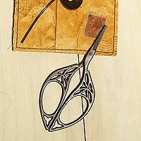 日本古典復古風剪刀-蕾絲圈圈款