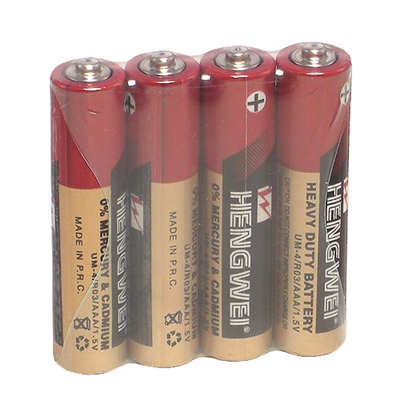 ■■iMake曖昧客■■【HENGWEI】4號環保碳鋅電池(4顆入) (185580001-1)