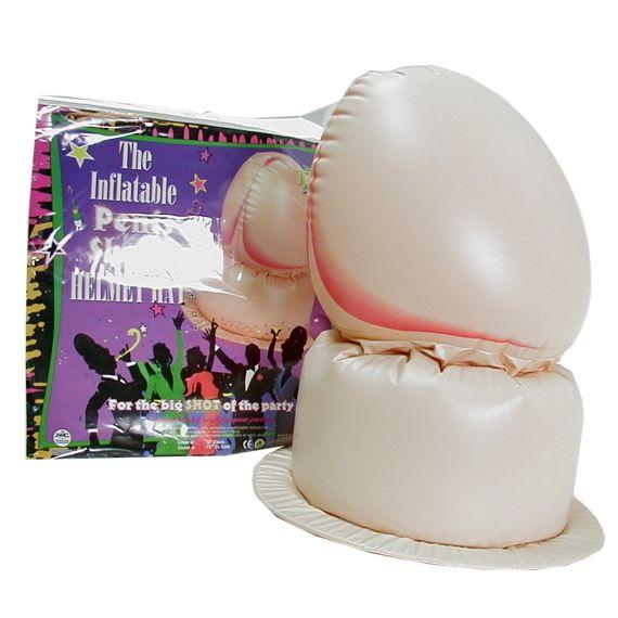 ■■iMake曖昧客■■ 17吋頭盔型吹氣老二(晚會用) (186450040000000)
