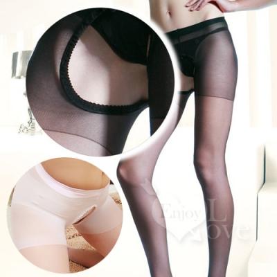 ■■iMake曖昧客■■誘惑之夜!免脫雙面開襠設計連褲絲襪﹝白﹞ (18535315)