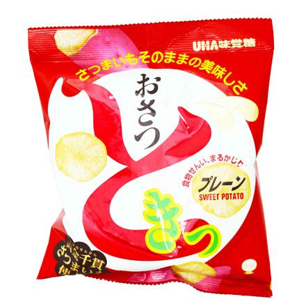 [敵富朗超市]UHA味覺糖味覺黃薯片-甜味
