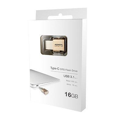 *╯新風尚潮流╭*威剛UC350 16GB Macbook type-C OTG手機電腦兩用隨身碟 AUC350-16G