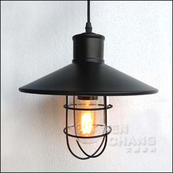 Loft 工業 倉庫 風格 防爆船艙燈 吊燈 LC-064 *文昌家具* 《特價》