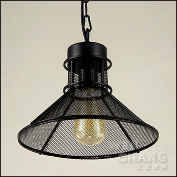 LOFT工業風 網狀 貝拉網格吊燈 餐廳燈 LC-084 *文昌家具* *特價*