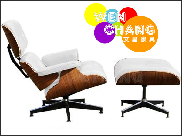 Charles Eames經典設計Lounge Chair & Ottoman 完美1:1比例 複刻版 SO001 *文昌家具*