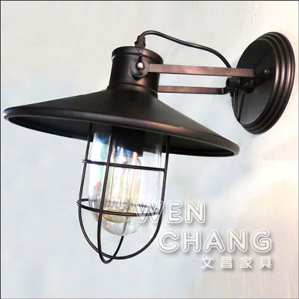 Loft 工業 倉庫 風格 防爆船艙壁燈 吸頂燈 LB-006 *文昌家具* 《特價》