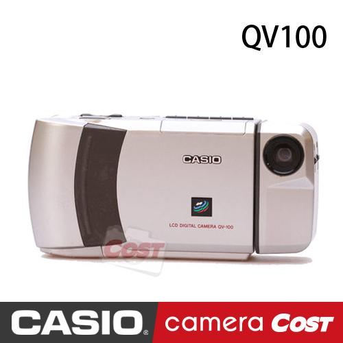 CASIO QV100 第一代自拍神器 旋轉鏡頭 自拍神機 自拍神器始祖