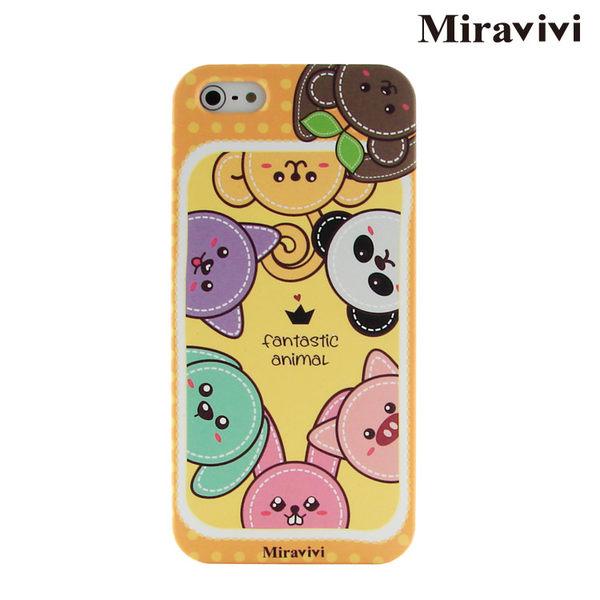 Miravivi iPhone SE/i5/i5s  可愛動物狂想曲時尚保護殼-降價大優惠