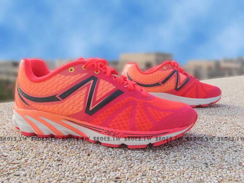 [24.5cm]《超值6折》Shoestw【W3190PK2】NEW BALANCE NB 專業慢跑鞋 桃粉紅 透氣布 女款