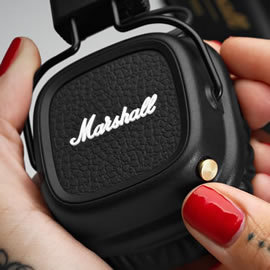 志達電子 MAJOR II Bluetooth 英國Marshall 藍芽/藍牙 耳罩式耳機 黑/棕/白三色