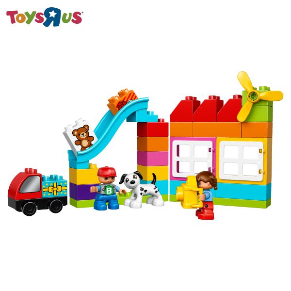 玩具反斗城 樂高 LEGO?得寶?創意拼砌盒-10820***