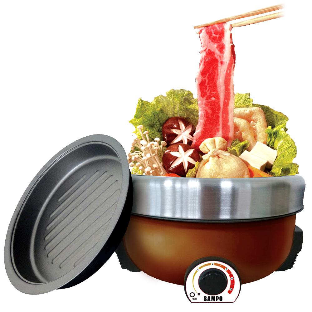 聲寶SAMPO 4公升火鍋燒烤兩用料理鍋【TQ-B1540CL】(BMTQB1540CL)