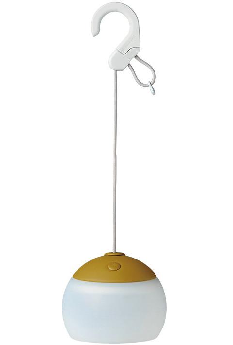 Snow Peak 充電式燈籠花/露營營燈/氣氛燈/夜燈/吊燈 Hozuki ES-070GR 卡其綠 日本雪峰