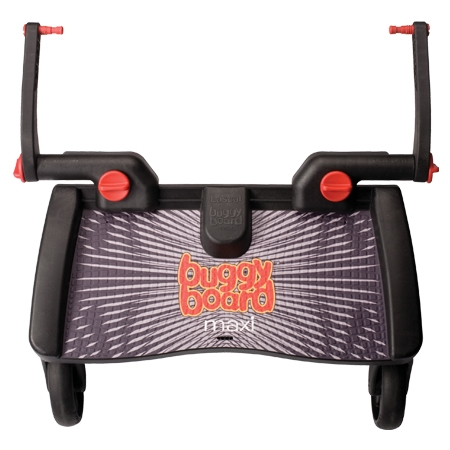 ★衛立兒生活館★Lascal - BuggyBoard Maxi 推車輔助踏板-Black