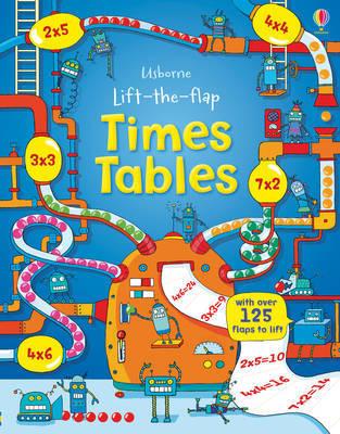 英國 Usborne 翻翻書 Lift-the-Flap Times Tables 有趣的乘法表 *夏日微風*