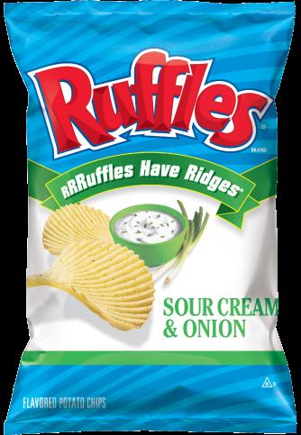 美國進口 Ruffles 厚切波樂洋芋片-香蔥口味184.2g
