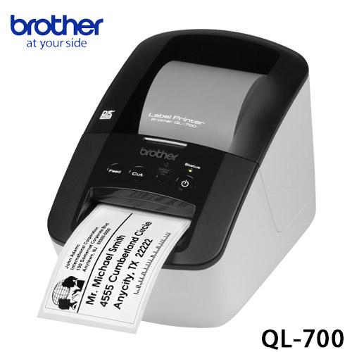 brother QL-700高速標籤列印機