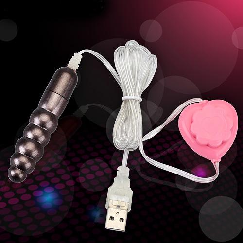 【紫星情趣用品】●小S跳蛋 超強力USB(微調式)螺紋跳蛋-銀色(E00154)