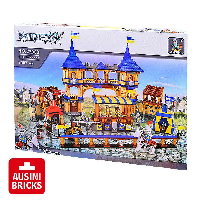 【AUSINI 奧斯尼積木】城堡系列 - 皇家競技場 27908 (可相容於LEGO樂高)
