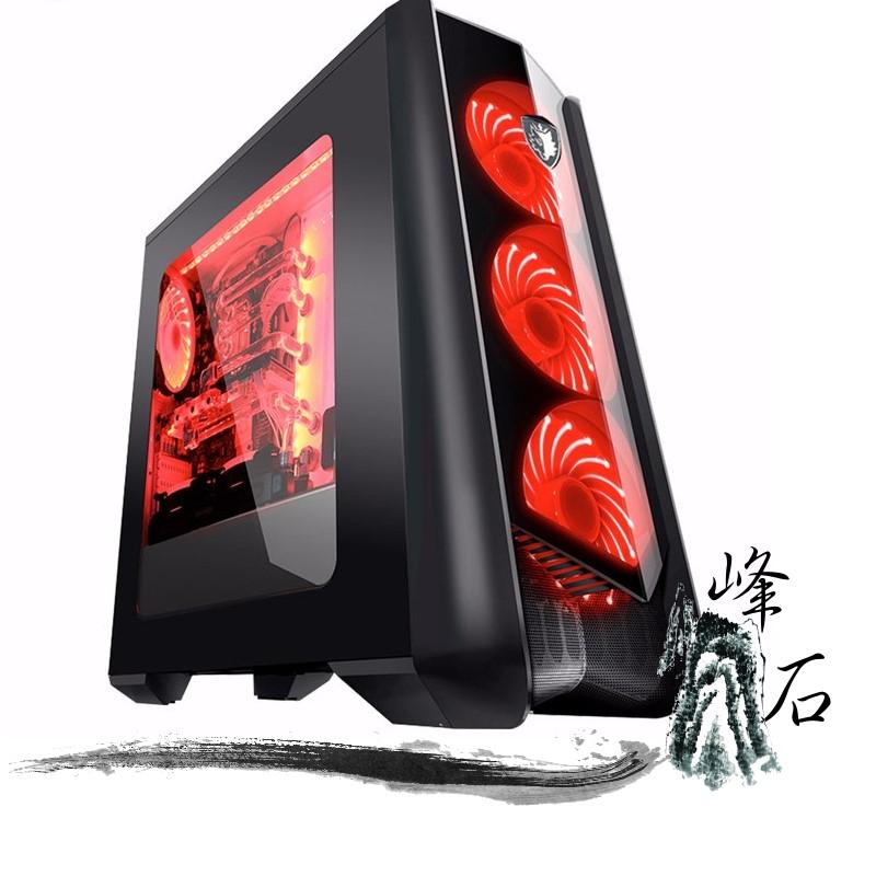 賽德斯 Horus 荷魯斯 黑  透側 USB3.0 電競機殼 主機殼 12CM風扇x7