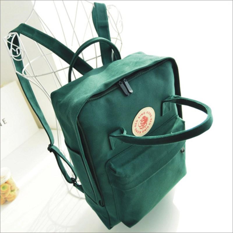 【素面後背包】 韓版流行後背包 學院風旅行包 書包  時尚玩包