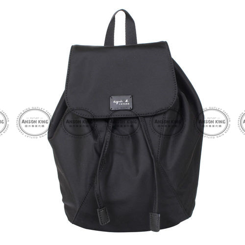 Outlet代購 agnes.b 亞洲限定款 後背包 小b (黑色) 二 色 書包 通勤包 雙肩包 斜挎包 防水