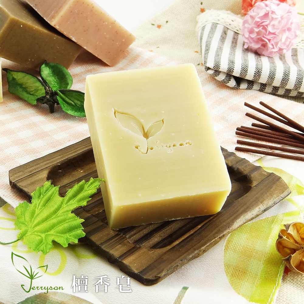 【Jerryson】天然手工檀香皂